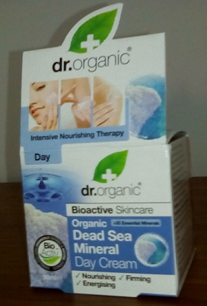 Dr Organic Dead Sea Mineral Day Cream foto