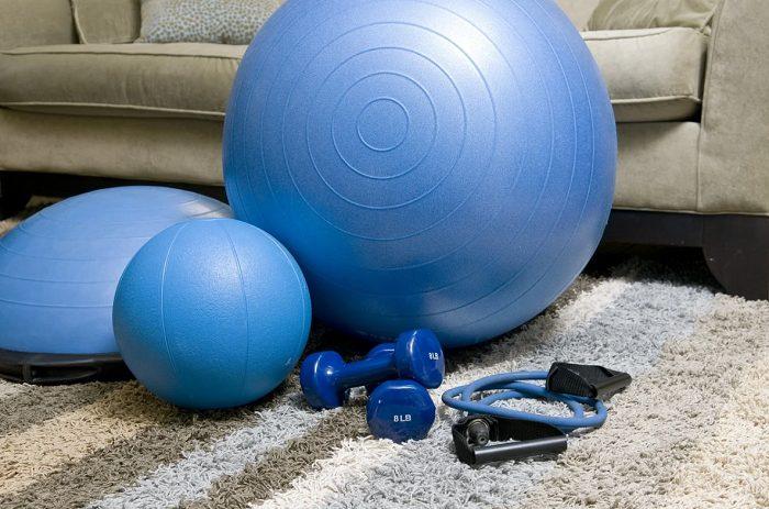 Set per allenamento in casa