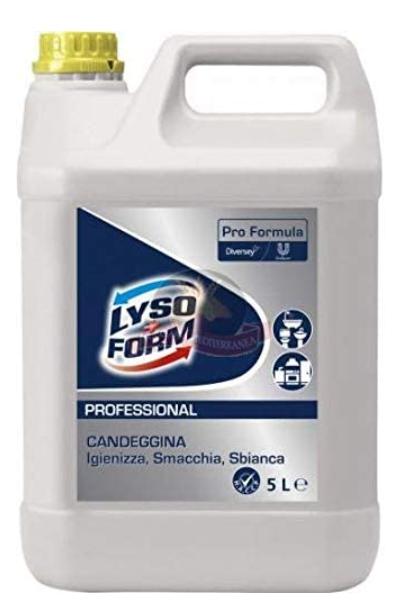Lysoform professionale Candeggina 5 litri