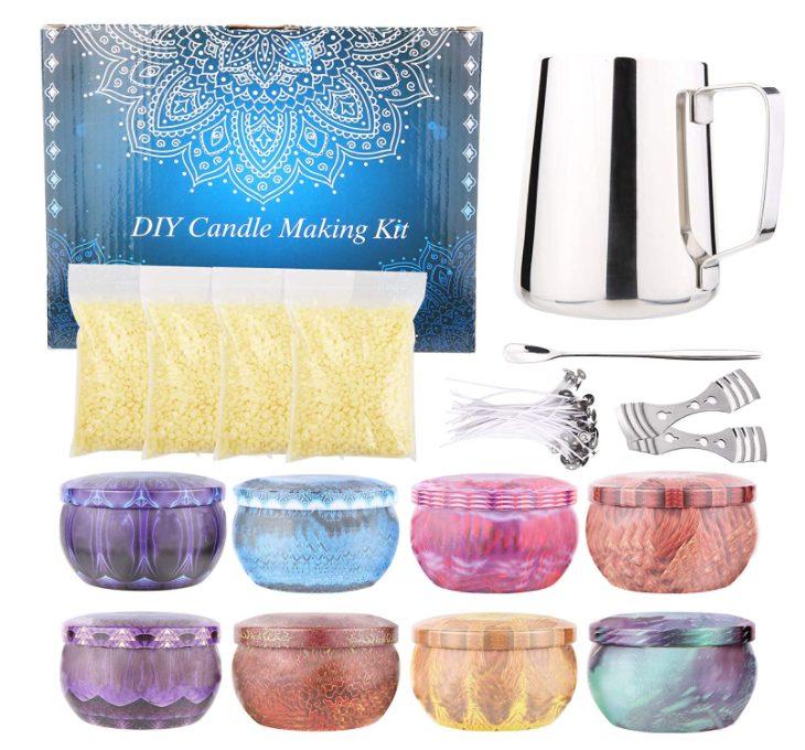 set per creare candele profumate