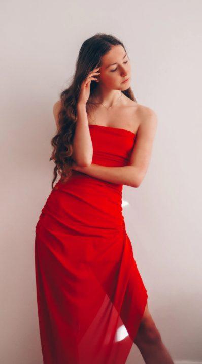 tubino rosso