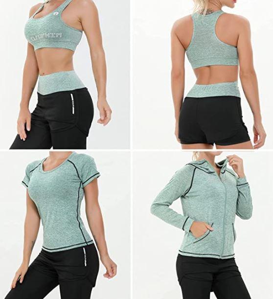 Abbigliamento Sportivo da Donna, Set